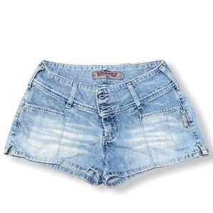 Vintage Silver jean shorts
